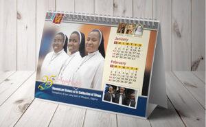 Desk & Table Top Calendar