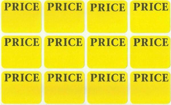 Price LABEL STICKERS